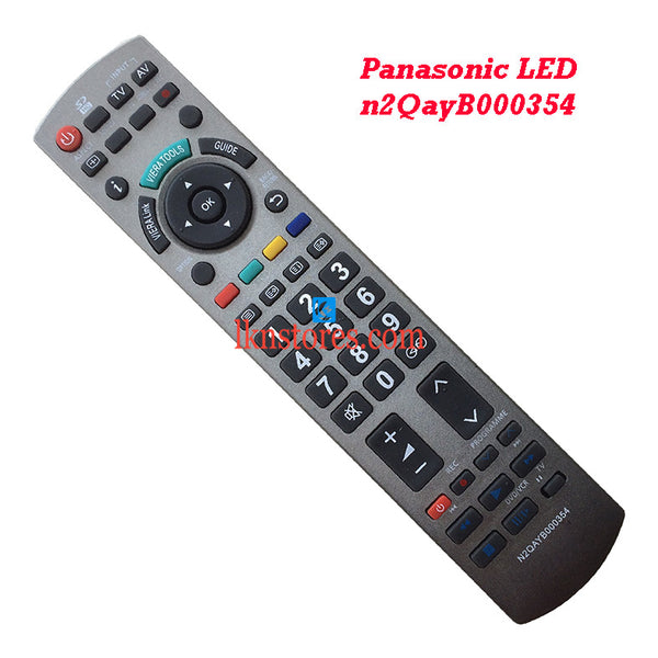 Panasonic N2QAYB000354 LED replacement remote control - LKNSTORES