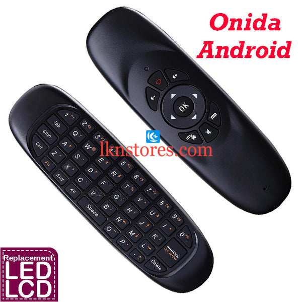 Onida LED Android Web Cruiser Replacement Remote Control