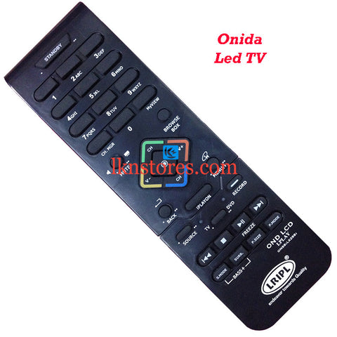 Onida IPLAY LCD replacement remote control