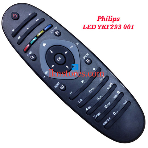 Generic Philips LCD LED Tv Remote YKF293 001 - LKNSTORES