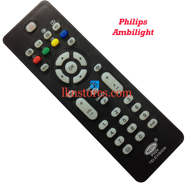 Philips AMBILIGHT replacement remote control - LKNSTORES