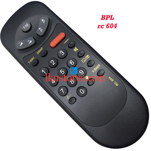 BPL RC 604 replacement remote control