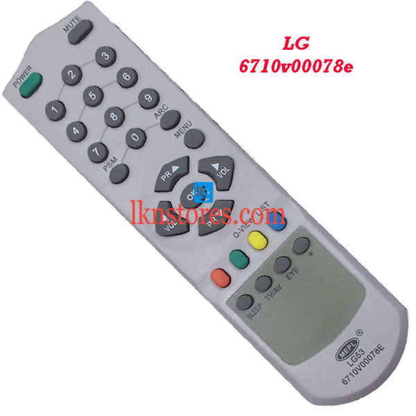 LG 6710V00078E replacement remote control