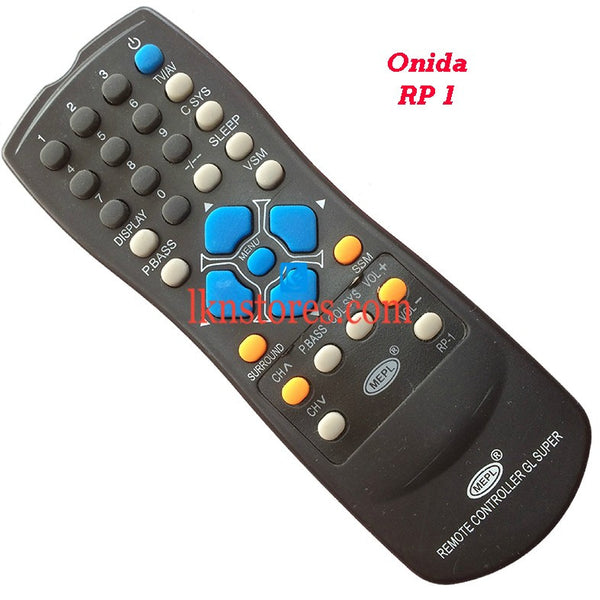 Onida RP 1 replacement remote control - LKNSTORES