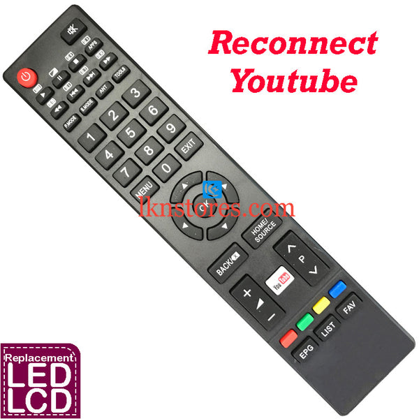 Reconnect Youtube LED Replacement Remote Control