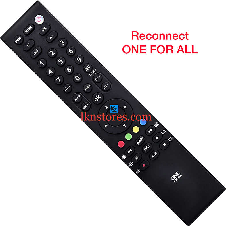 Reconnect LED Original One For All Remote Control
