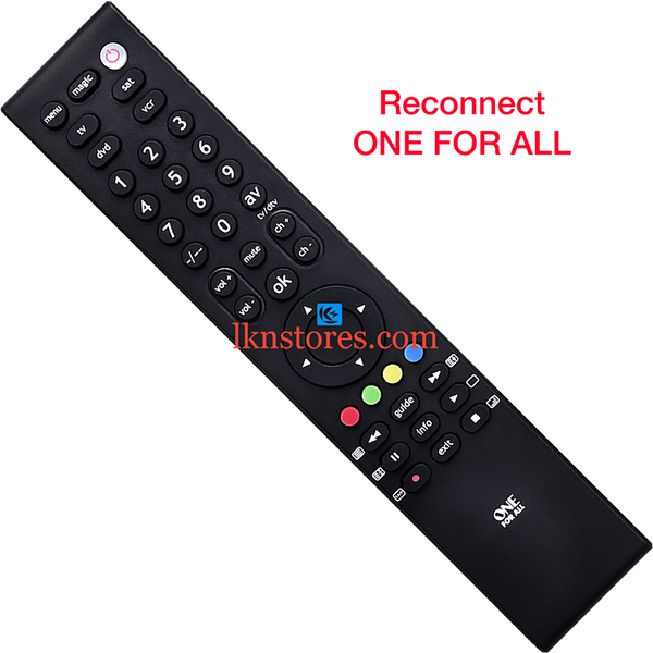Reconnect LED Original One For All Remote Control - LKNSTORES