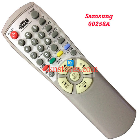 Samsung 00258A replacement remote control