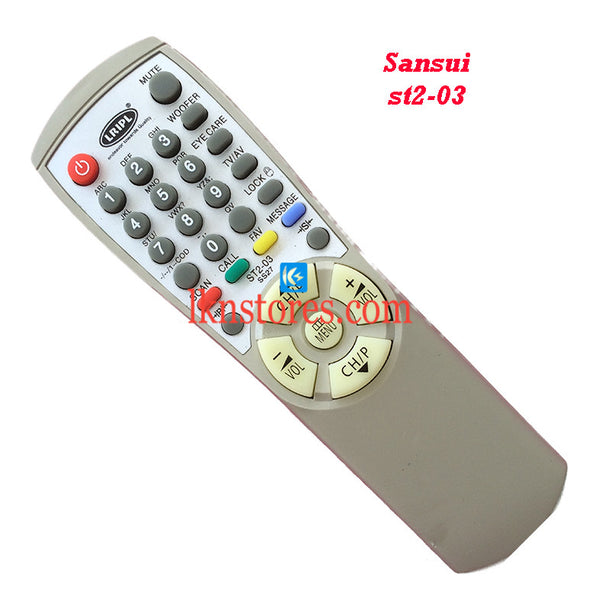 Sansui ST2 03 replacement remote control - LKNSTORES