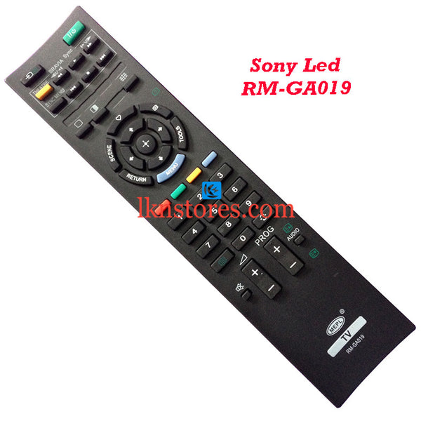 Sony RM GA019 LCD replacement remote control