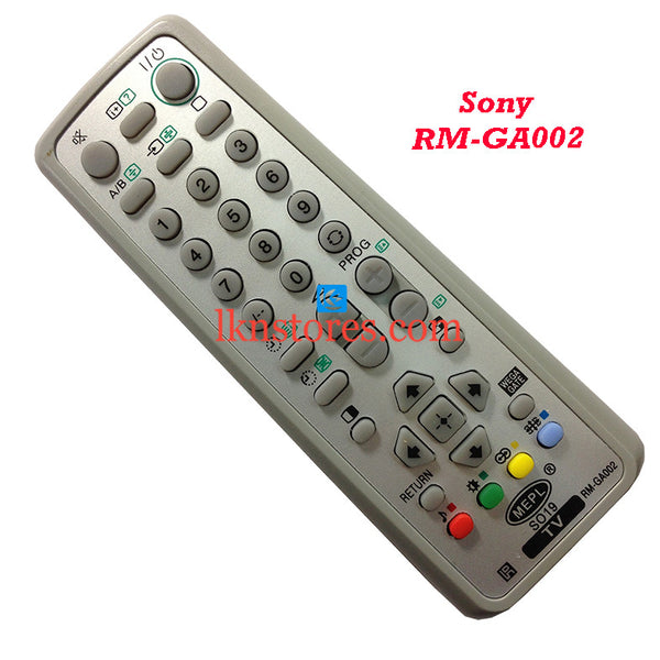 Sony Remote Control RM GA002 Wega replacement