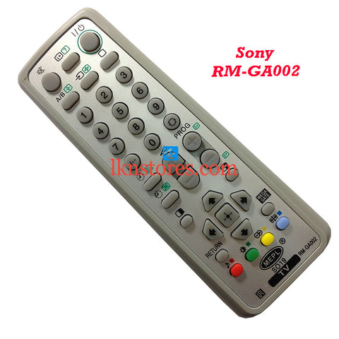Compatible Sony Tv Remote RM GA002 - LKNSTORES