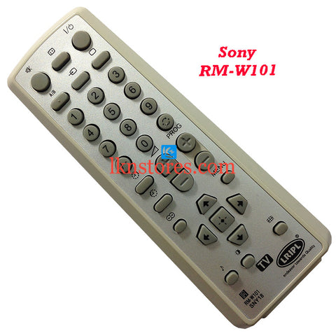 Sony Remote Control RM W101 replacement