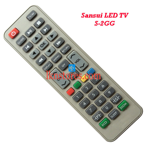 Sansui S 2GG LED replacement remote control - LKNSTORES