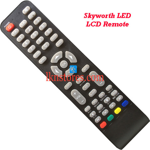 Skyworth LED LCD Remote Control Best Compatible model2