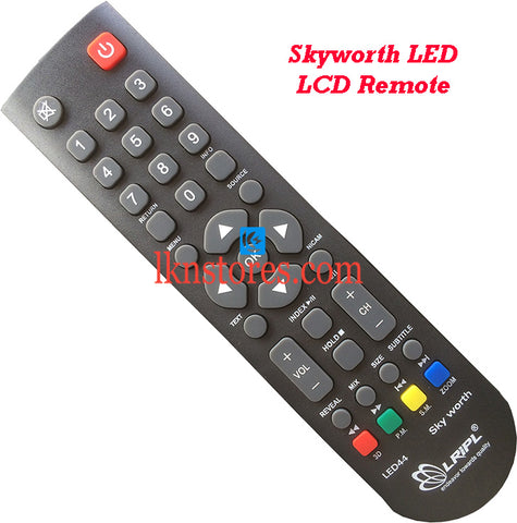 Skyworth LED LCD Remote Control Best Compatible model3
