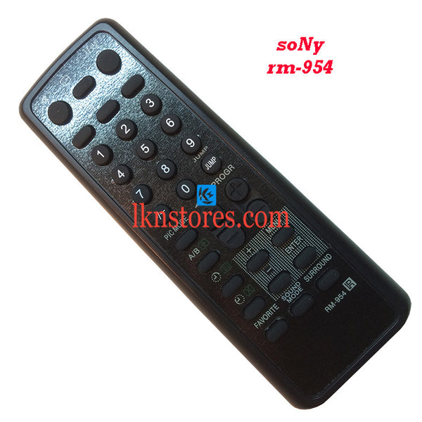 Sony Remote Control RM 954 replacement