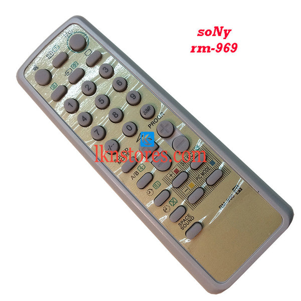 Sony Remote Control RM 969 replacement - LKNSTORES