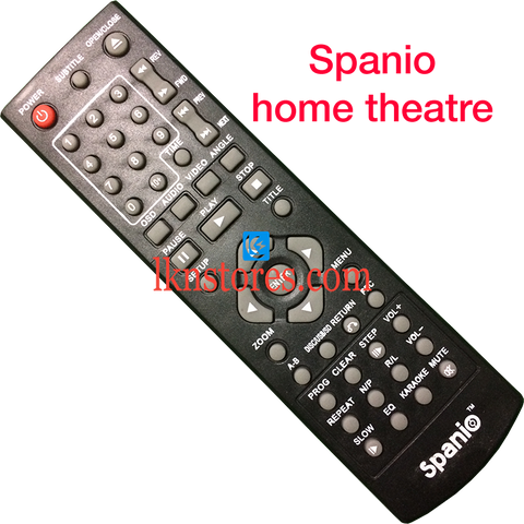 Spanio Home Theatre Remote