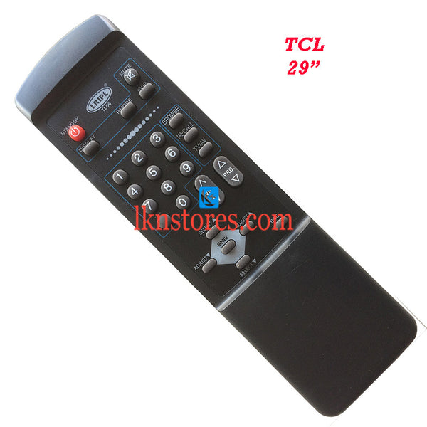 TCL 29 Replacement Remote Control - LKNSTORES