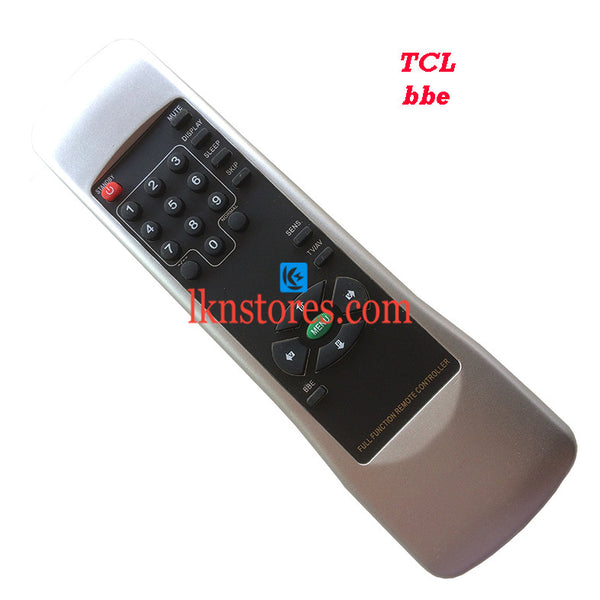 TCL BBE Replacement Remote Control