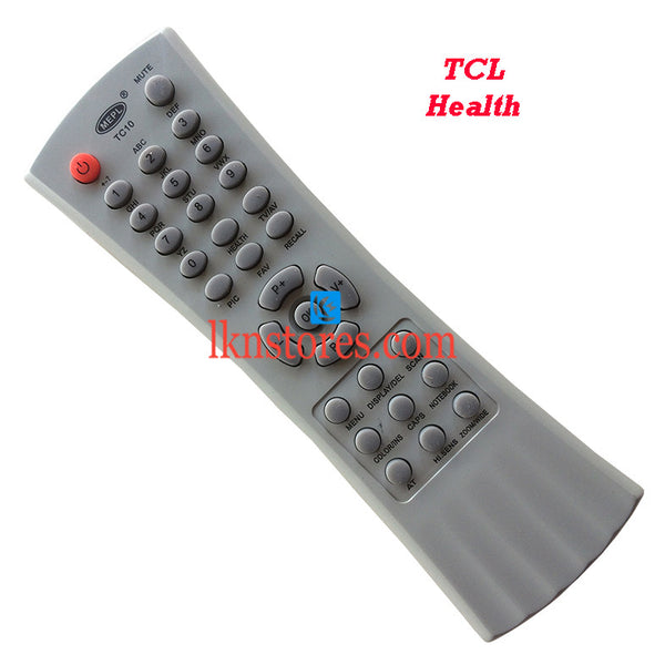 TCL Health Replacement Remote Control