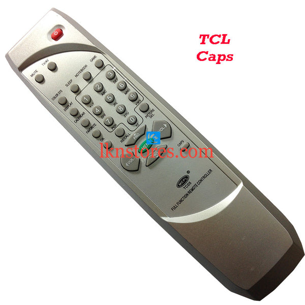 TCL CAPS replacement remote control