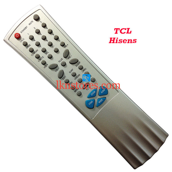 TCL HISENS replacement remote control