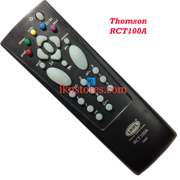 Thomson RCT 100A replacement remote control