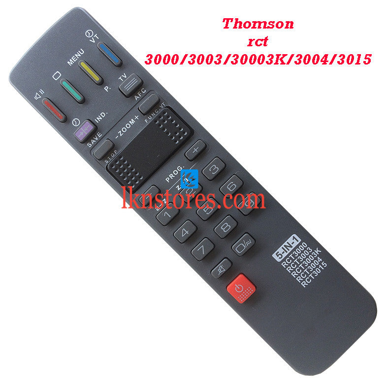 Thomson remote control RCT 3003K replacement