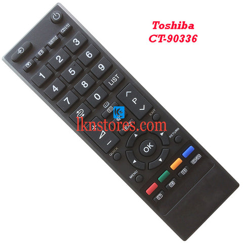 Toshiba CT 90336 LED Replacement Remote Control