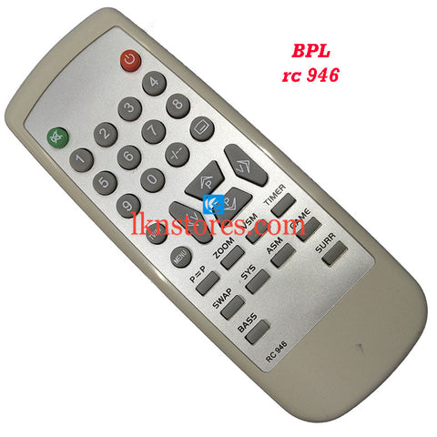 BPL RC 946 replacement remote control