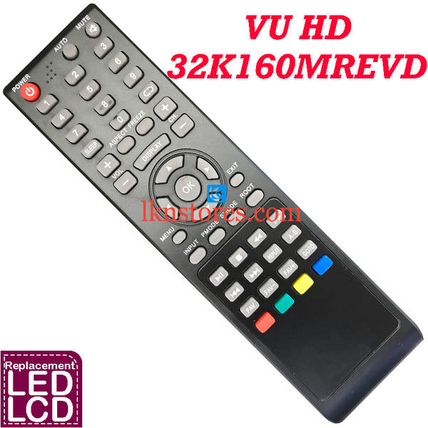 VU LED HD 32K160MREVD replacement remote control