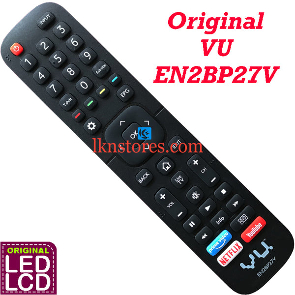 VU LED TV Model EN2BP27V Original Remote Control