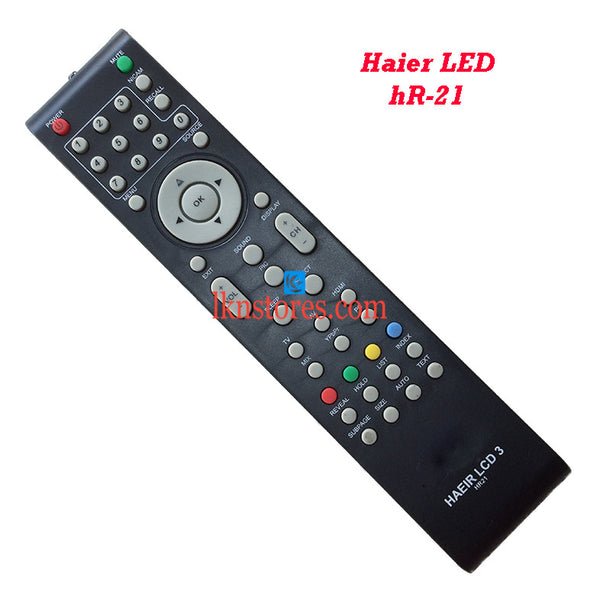 Haier HR 21 LCD replacement remote control