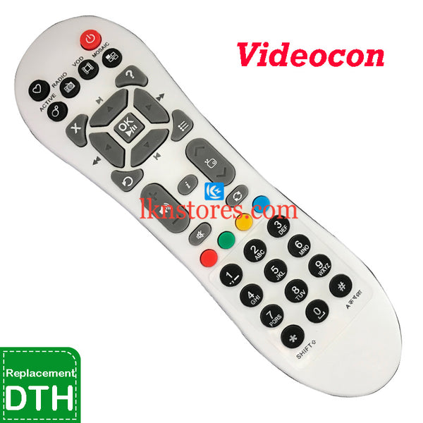 Videocon DTH Digital replacement remote control - LKNSTORES