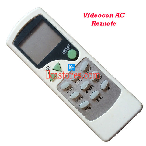 Videocon AC Air Condition Remote Compatible AC7A