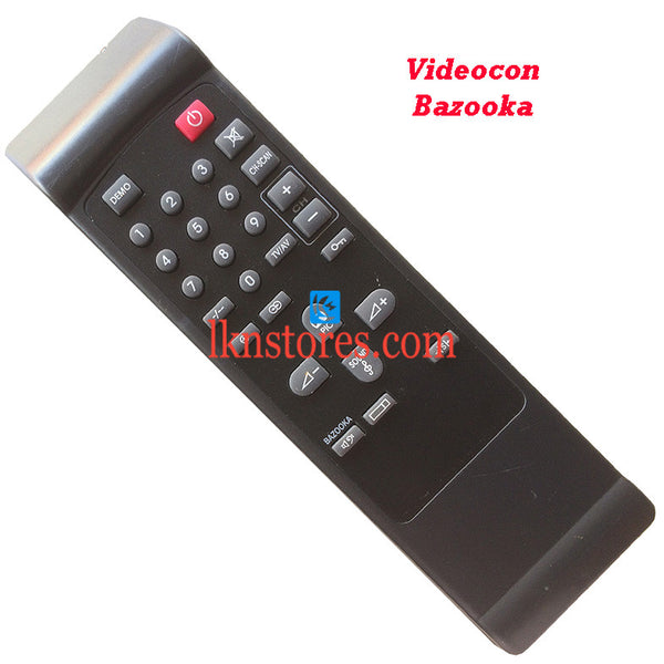 Videocon Remote Control Bazooka Replacement
