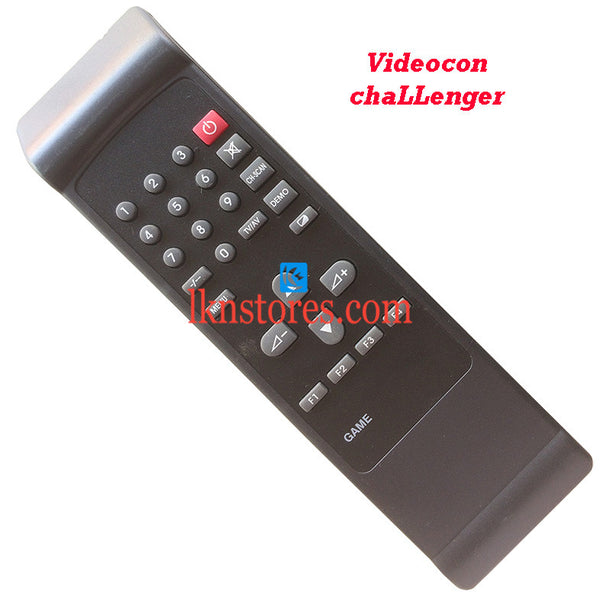 Videocon Remote Control Challenger Replacement