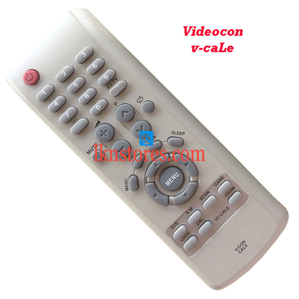 Videocon Remote Control V-CON CALE Replacement - LKNSTORES