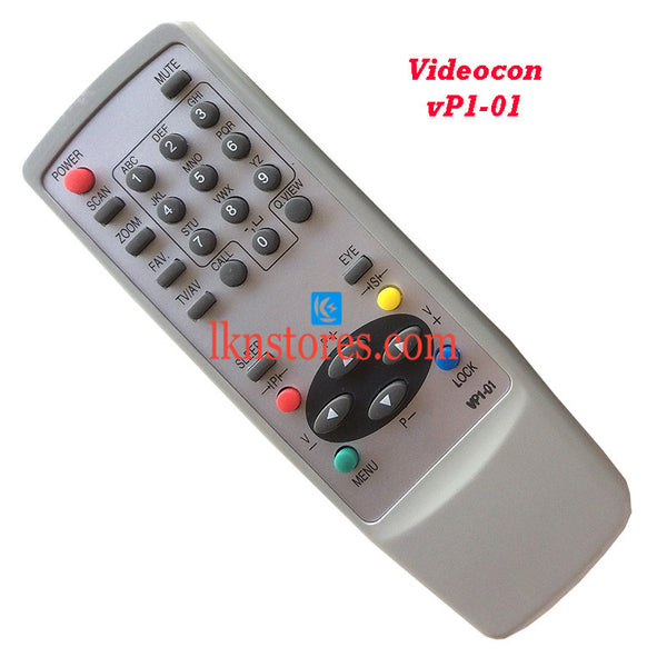Videocon Remote Control VP1 01 Replacement - LKNSTORES