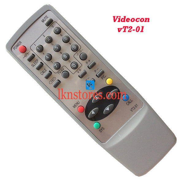 Videocon Remote Control VT2 01 Replacement