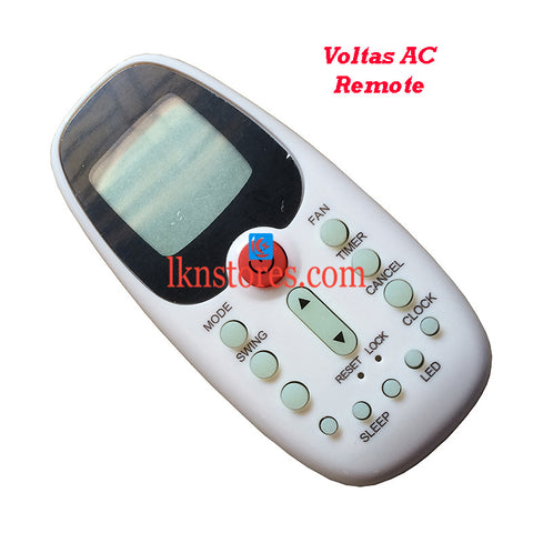 Voltas Air Conditioner replacement remote control 3