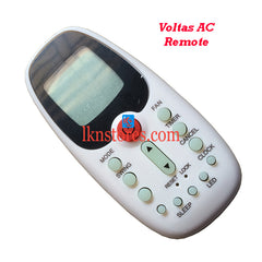 Voltas Air Conditioner replacement remote control