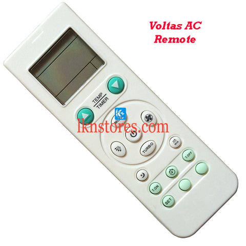 Voltas Air Conditioner replacement remote control 6