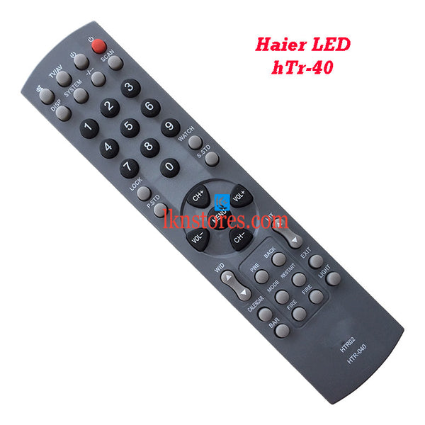 Haier HTR 040 LCD replacement remote control