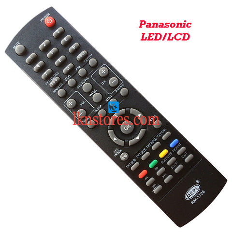 Panasonic LCD LED Remote Control