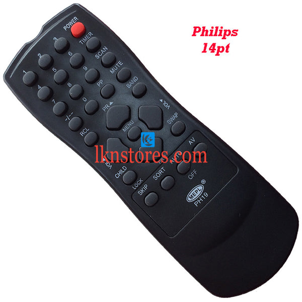 Philips 14PT replacement remote control - LKNSTORES