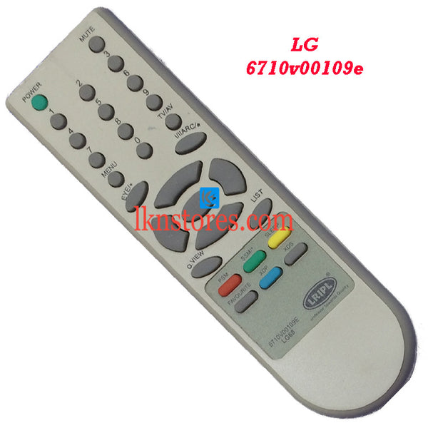 LG 6710V00109E replacement remote control - LKNSTORES