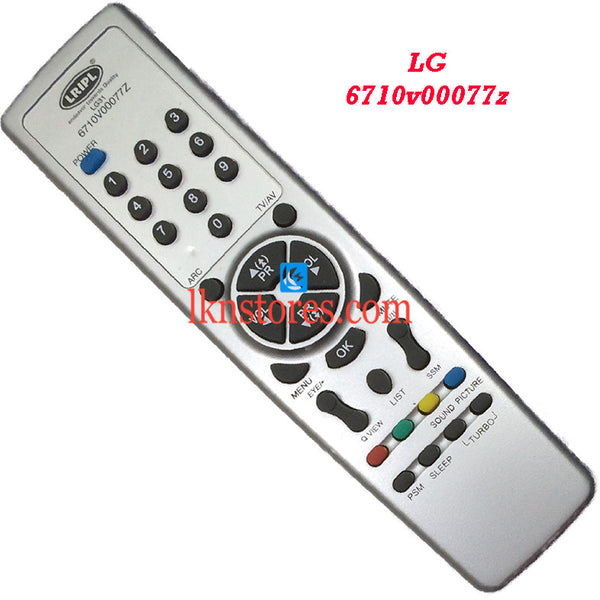 LG 6710V00077Z replacement remote control